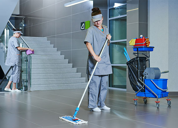 Enviro Clean Building Maintenance Services : School and university cleaning in panama green