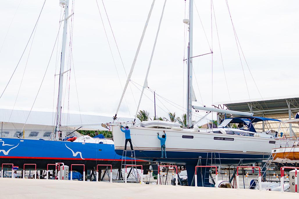 Limpieza de Barcos en Panamá