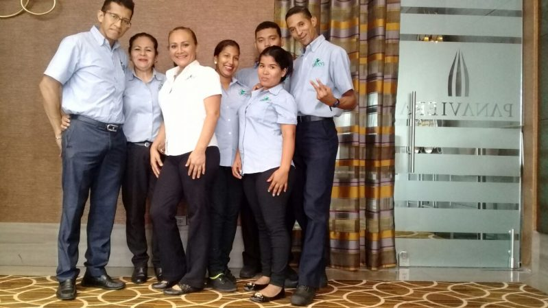 Cleaning company in Panama