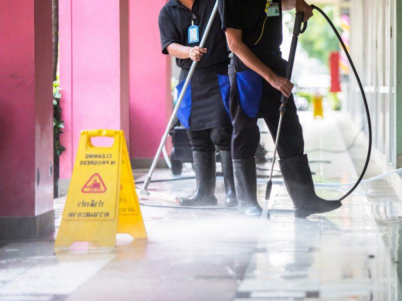 Limpieza y mantenimiento de edificios