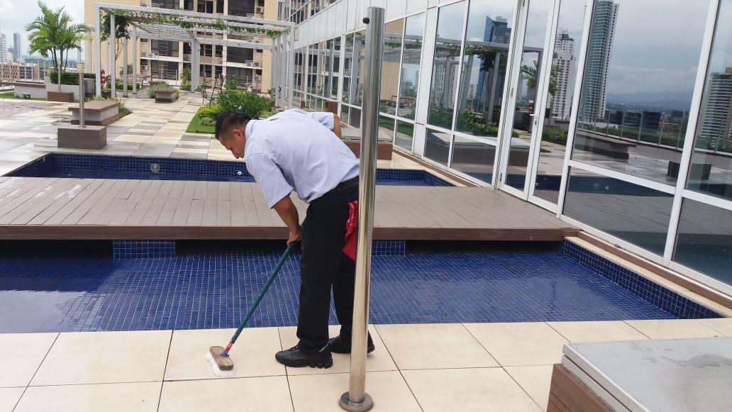 Servicios comerciales de limpieza en Panamá