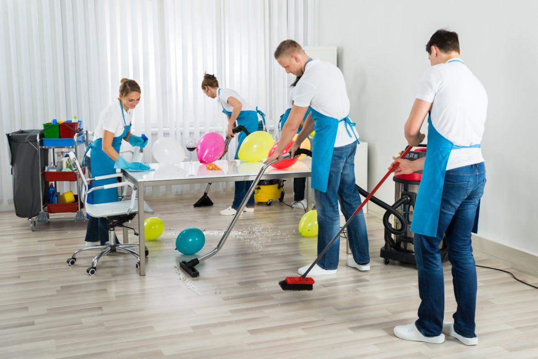 Servicios de limpieza especial en Panama