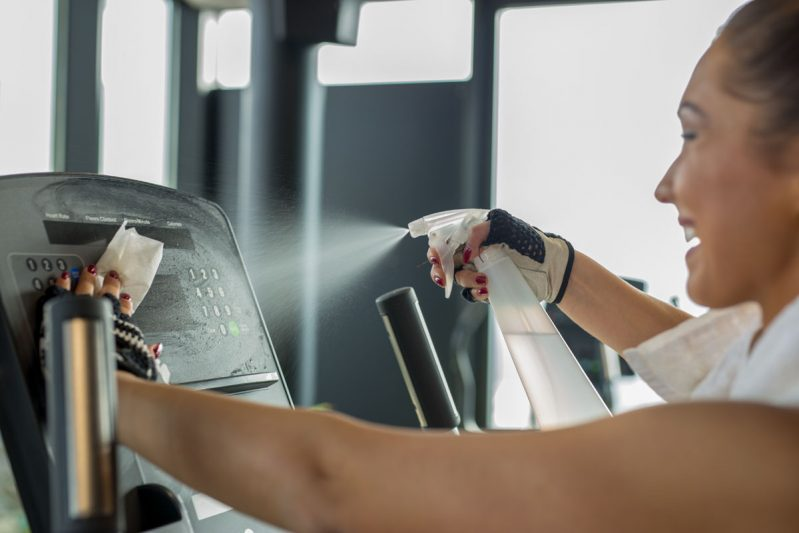 Servicios de limpieza de gimnasio en Panama