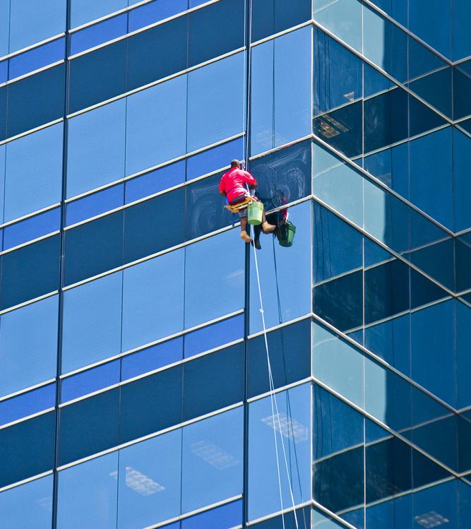 Limpieza de Ventanas de Edificios a Gran Altura Panama
