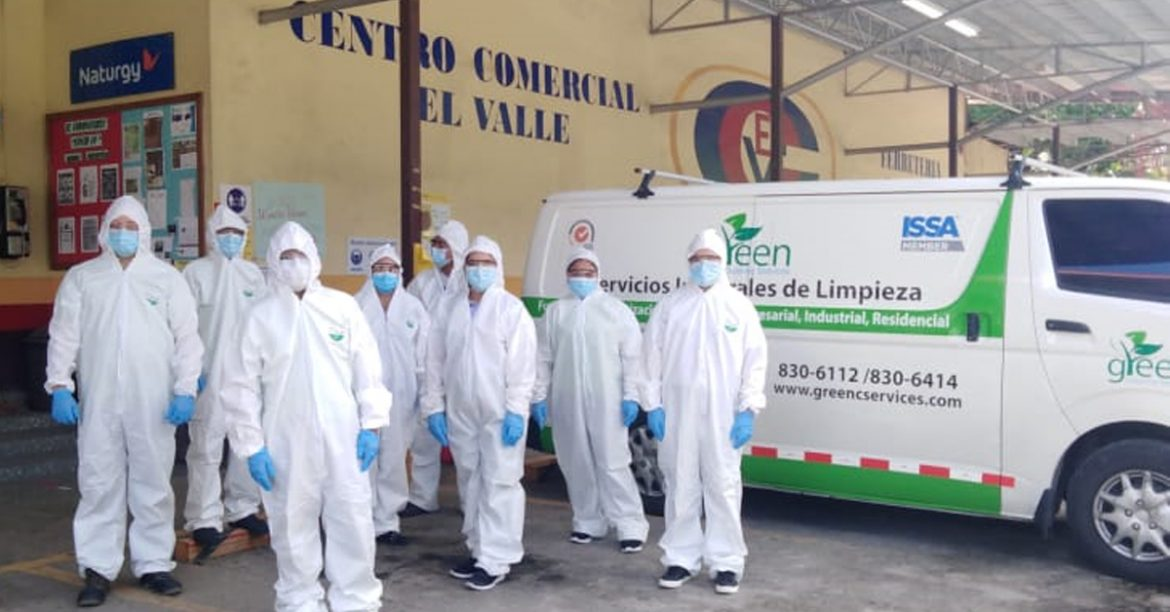 Commercial cleaning per day Panama