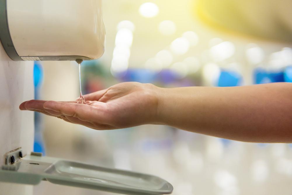 Dispensador automático de gel alcoholado en Panamá | alcohol gel dispenser in Panama
